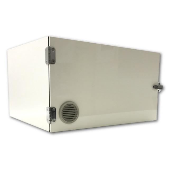 小型アイソレーションキャビネット 飼育ケージ2個タイプ